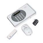 Privatalarmer - Kamera alarm tr�dl�s med indbygget GSM/GPRS �modul uden mdr. opkr�vning vagtaftale kan tilk�bes